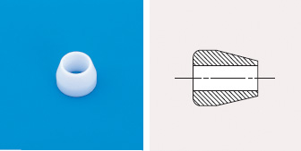 PTFE Ferrules for Swagelok Type Fittings | Products | GL Sciences